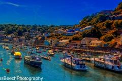 Boats in Looe