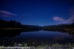 Burrator reservoirs reflection